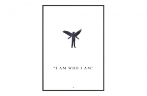 (주)도이치DOICH ®  FINMARK GRAPHICS   Sage Oh :  I Am Who I Am 도이치 액자 (매트없음)