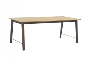 (주)도이치   [ 스웨덴 PMA ] Palmsprings Dining Table - Rectangular (확장형 180/225 cm)