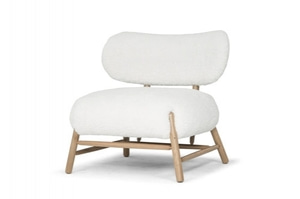 (주)도이치   소량수량 50% 재고할인 ~9/30                          [덴마크 SCANDINAVIAN DESIGN] Bear / lounge chair / md 1078 (off white)