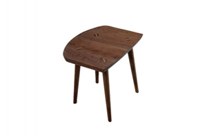 (주)도이치   소량수량 50% 재고할인 ~11/30                                                 [뉴욕 ORGANIC MODERNISM]  Shitake-B walnut Counter Stool