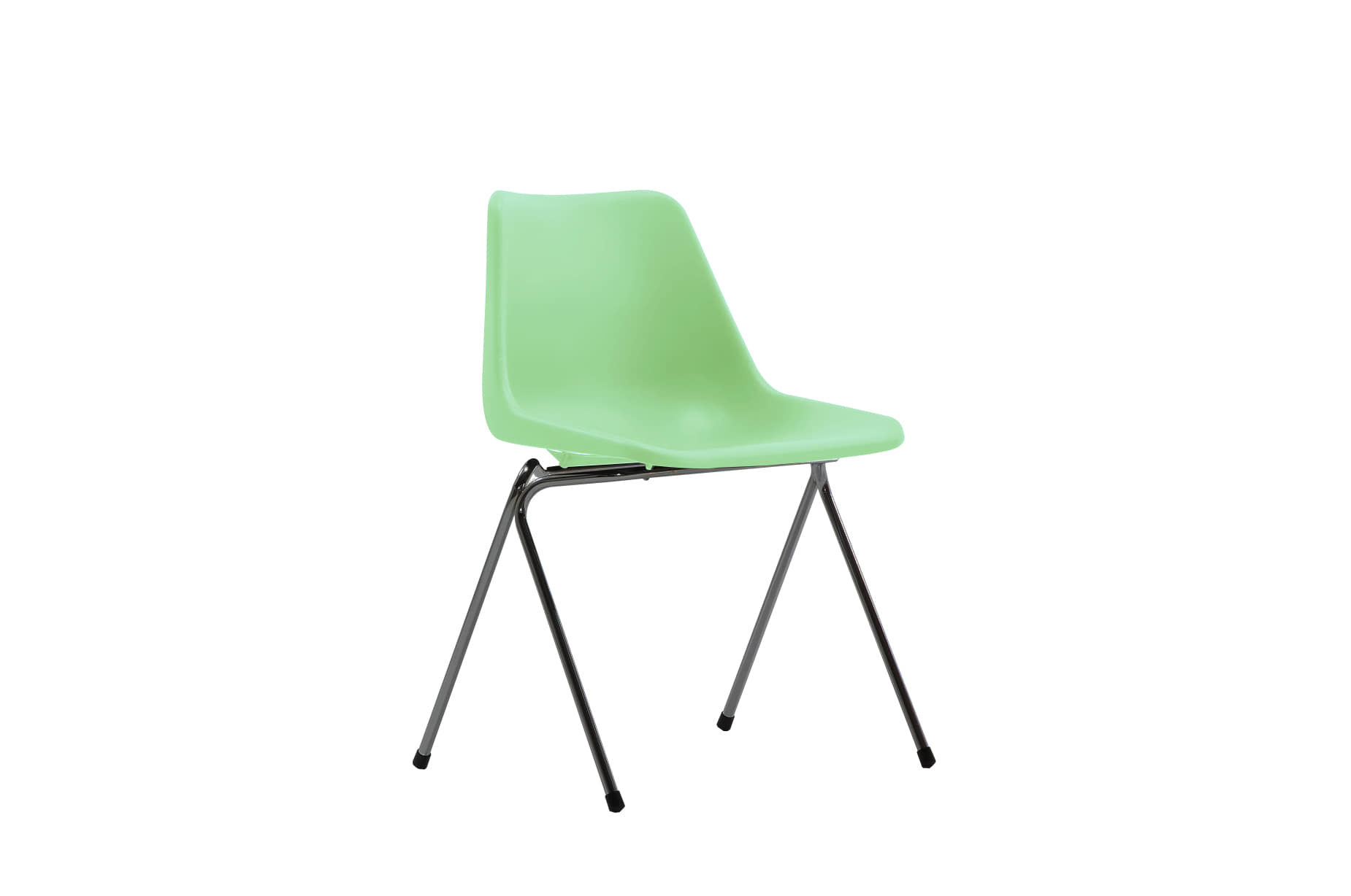 (주)도이치[BRITISHER] POLYPROP chair by Robinday, 1963 / black leg / Special Edition _English green for BRITISHER